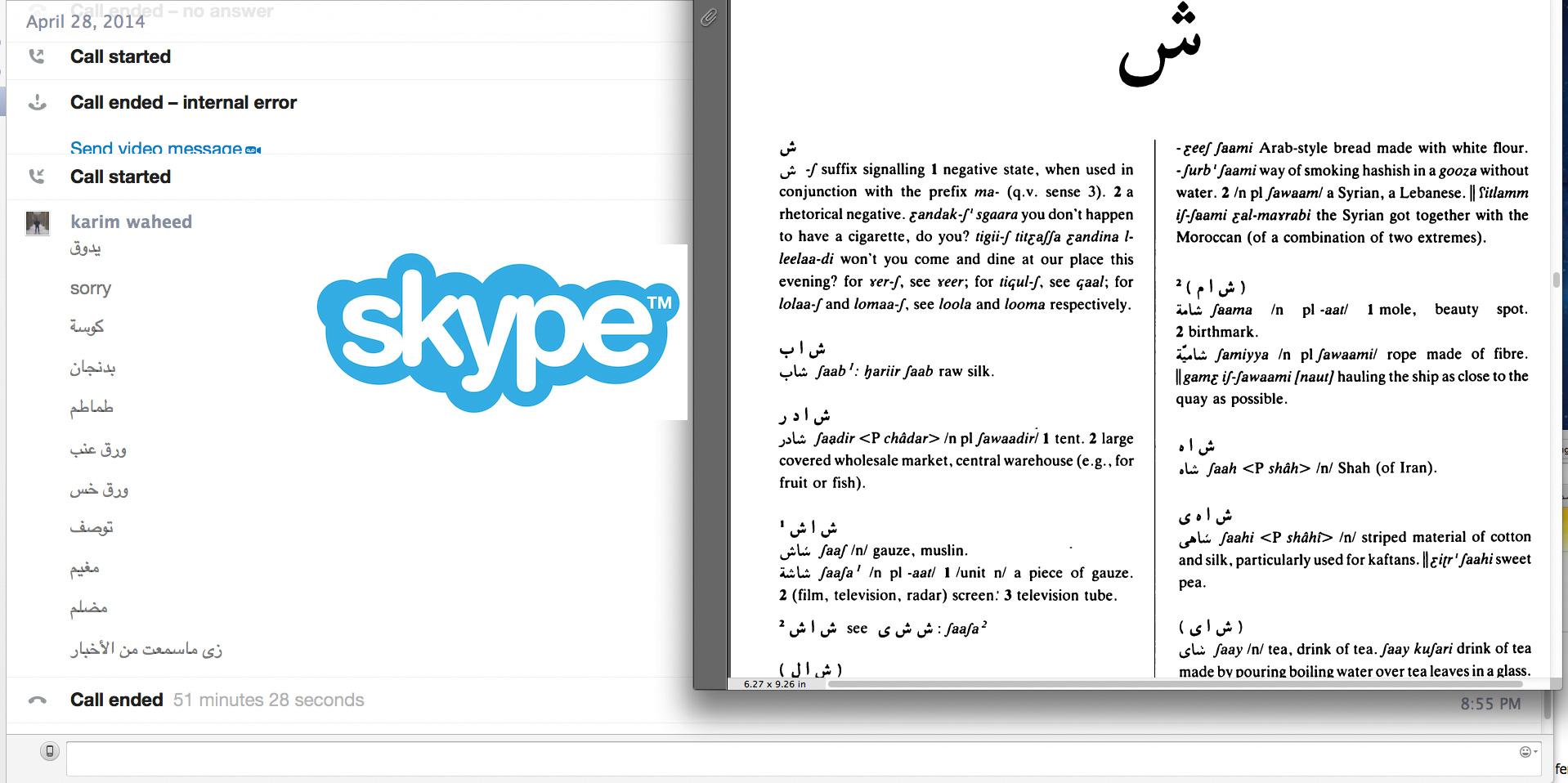 Skype kennenlernen