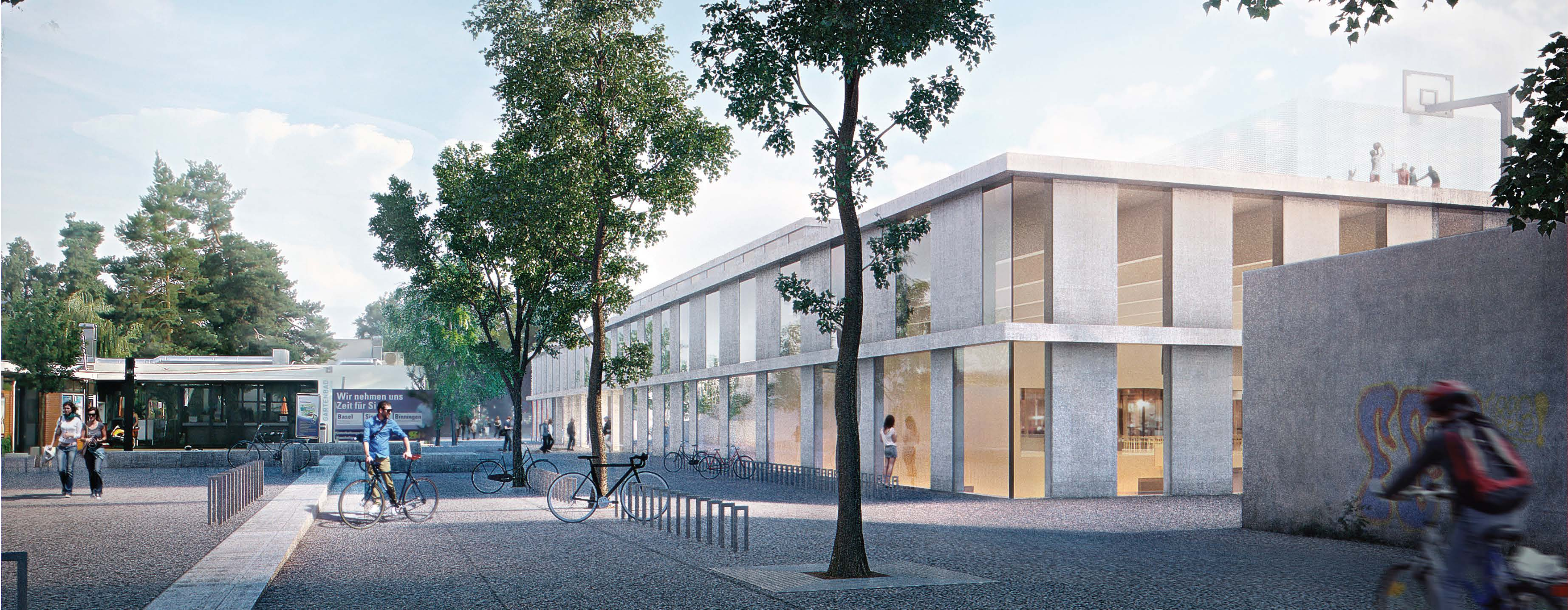 Aussenvisualisierung:  Caesar Zumthor und Markus Stern Architekten