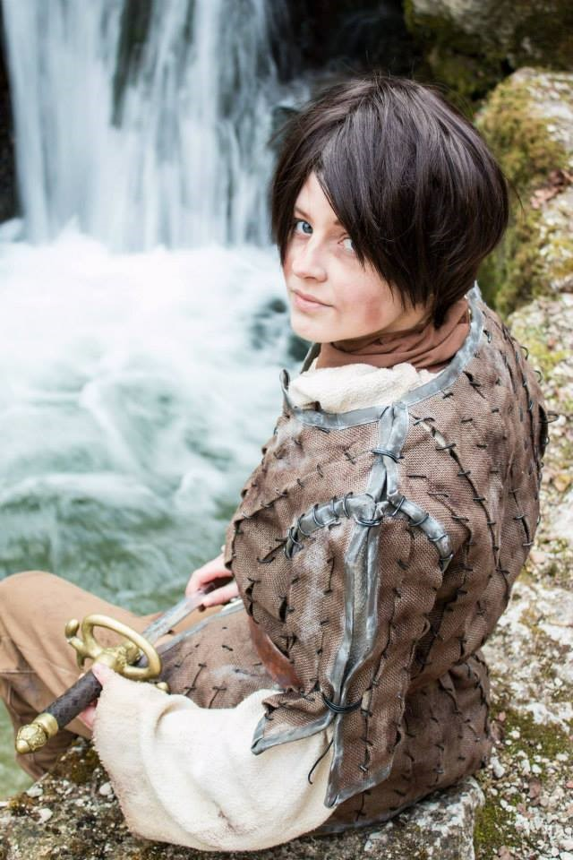 Celine als Arya Stark | Bild: Rahel Probst (nach dem letzten Abschnitt)