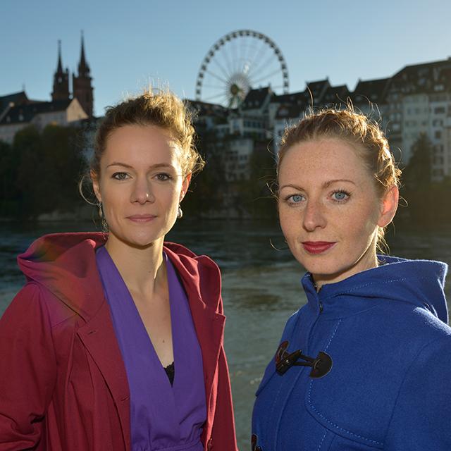 Die App-Entwicklerinnen Isabel Schlerkmann und Sabina Lutz haben beide an der Universität Basel studiert.