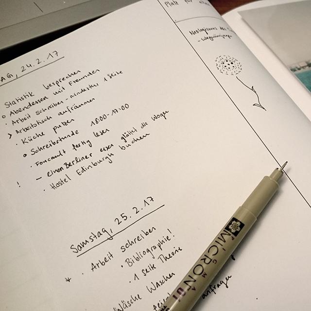Das Bullet Journal bringt Struktur in dein Leben