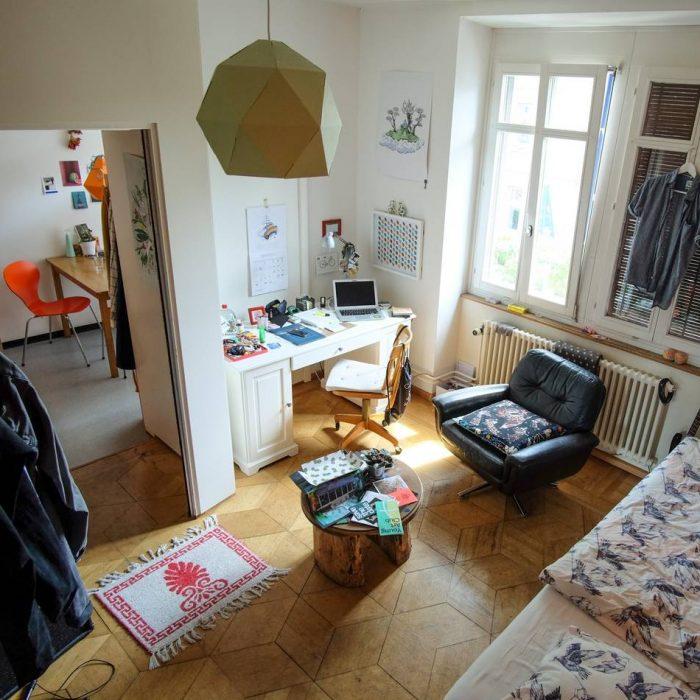 Basel Cribs Zwei Wohnungen Zwei Geschichten Beast Blog Be A