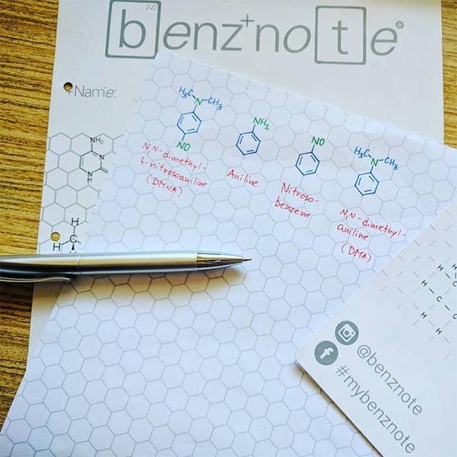 Benznote Das Notenpapier Für Chemiker Beast Blog Be A