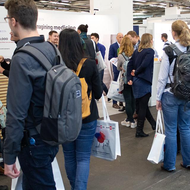 Was will ich denn als Geisteswissenschaftlerin an der Absolventenmesse Basel?