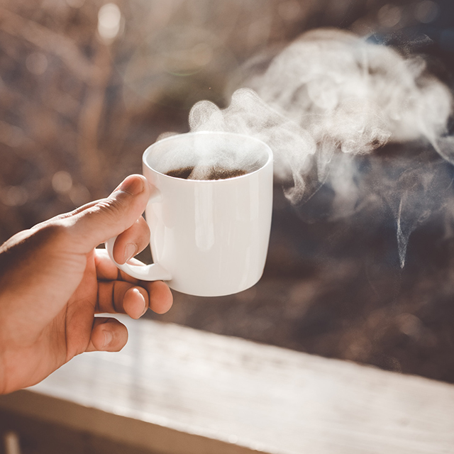 Das mache ich als erstes nach dem Aufstehen: </br></br> Kaffee. Immer.