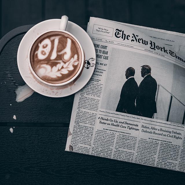 Meine Macke:</br></br> Vor der ersten Tasse Kaffee politische Diskussionen anzufangen
