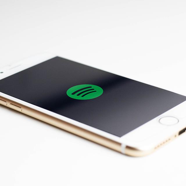 Meine wichtigste App: </br></br> Spotify