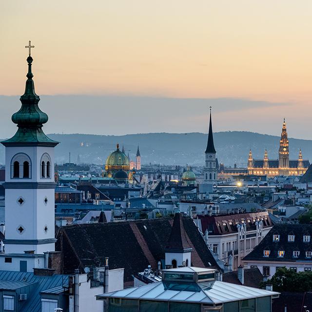 Meine Traumstadt für ein Auslandssemester: </br></br> Wien. Eine der schönsten Städte überhaupt. Die jährliche Mercer-Studie zur Lebensqualität in Städten sieht das ähnlich.
