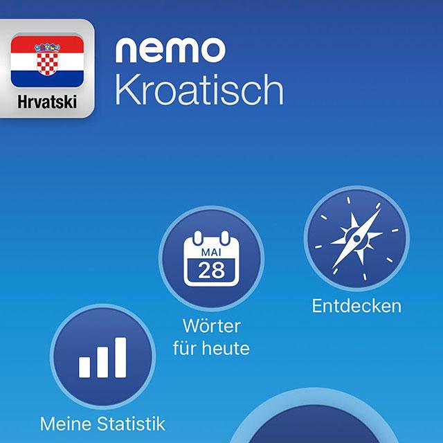 Screenshot der App «Nemo»