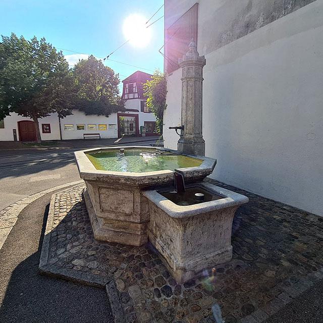 Brunnen am Leonhardsgraben